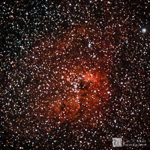 IC 410, including Open Star Cluster NGC 1893