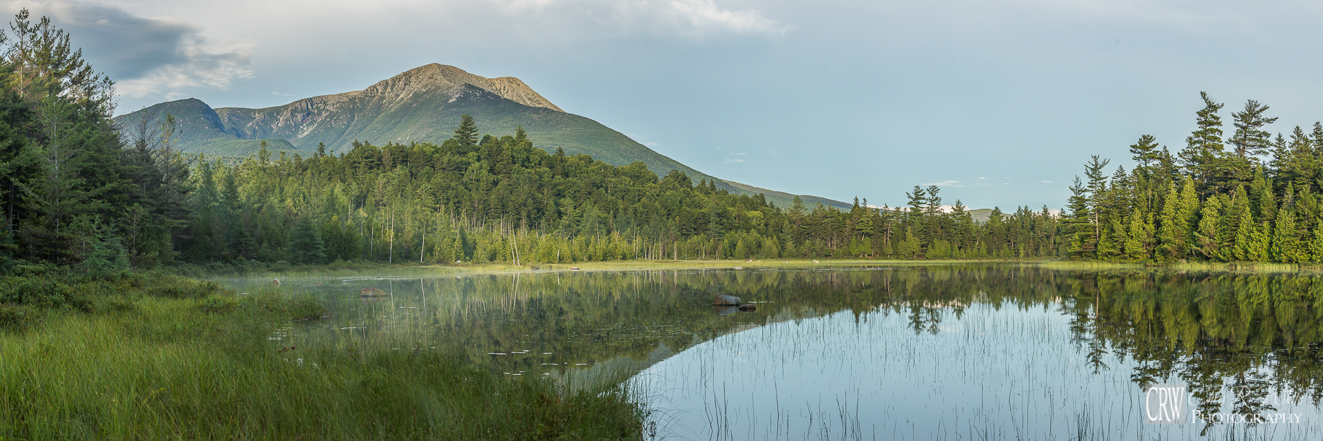 Mount Katahdin, looking south from within Baxter State Park