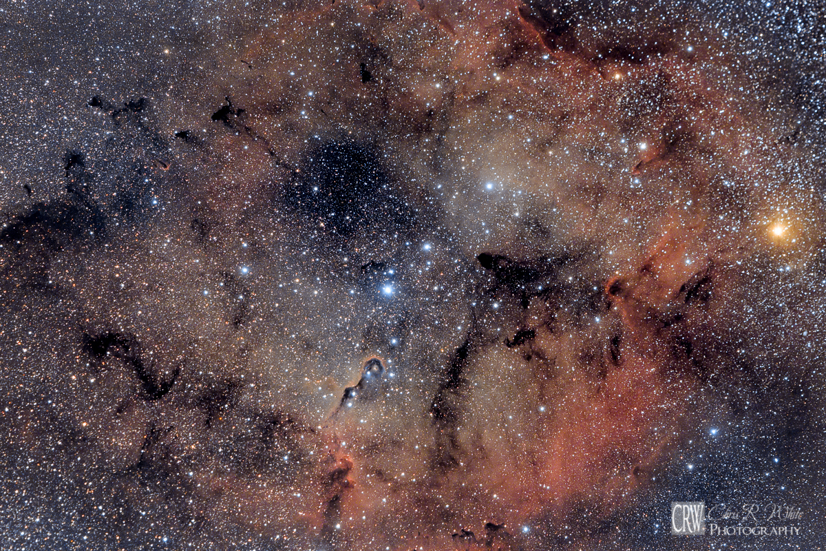 This was my first attempt to image IC1396 back in July of 2015  ~Click Image for a Larger View~